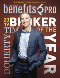 Tim Doherty - BenefitsPro Broker of the Year
